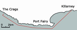 The Temporary Abalone Closure area off Port Fairy
