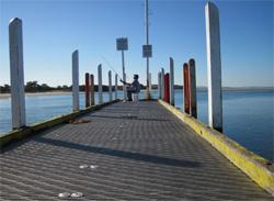Inverloch jetty, Anderson Inlet.