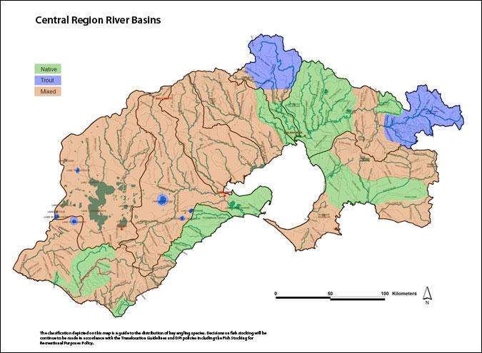 Central Region River Basins Small