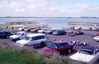 Northern boat ramp