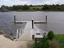 Allansford Angling Club received $2,653 to install safety rails on the West Jetty at Jubilee Park, Warrnambool