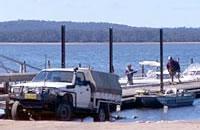 Sydenham inlet boat ramp