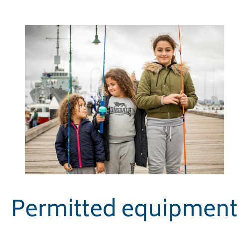 Permitted equipment link