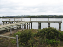 The multi-use facility on the Barwon River at Barwon Heads