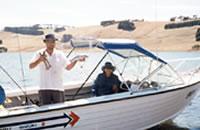 Fishing at Lake Bullen Merri