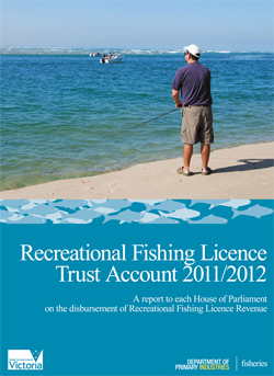 Recreational Fishing Licence Trust Account Document