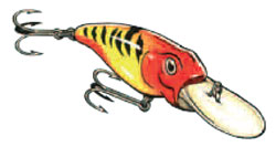bibbed lures