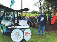 orinella Boating & Angling Club received $4,960 to run a 'Junior Fishing Day' to encourage responsible fishing practices amongst junior anglers.