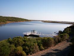 A new fishing platform at Yambuk Lake