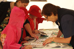 A Figh Right workshop being conducted at Briars Homestead, Mornington for junior anglers.
