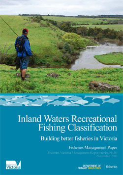 Inland Waters Recreational Fishing Classification
