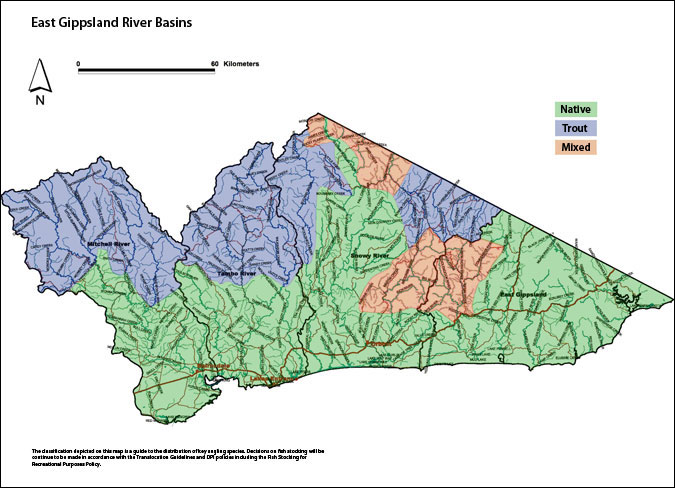 East Gippsland River Basins Small