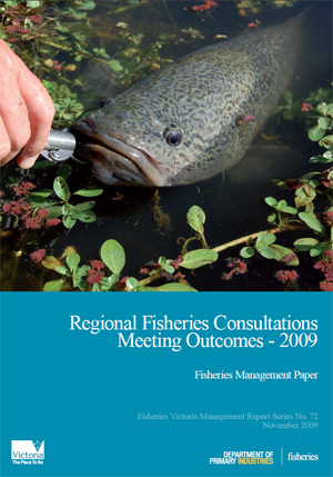 Regional Fisheries Consultations Report Cover