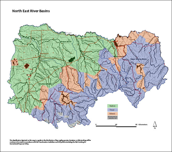 North East River Basins Small