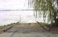 Reedy Lake (third) boat ramp